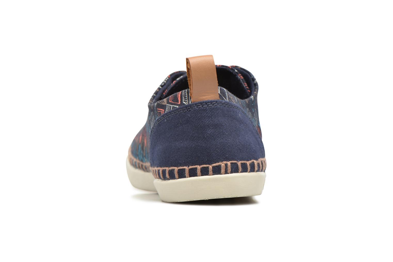 Sneakers P-L-D-M By Palladium Bel Twl Print Blauw rechts