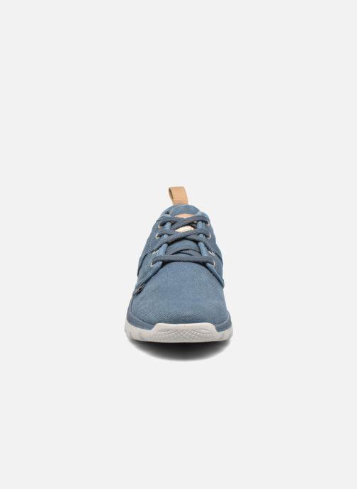 Baskets Palladium Plvil Lo K Bleu vue portées chaussures