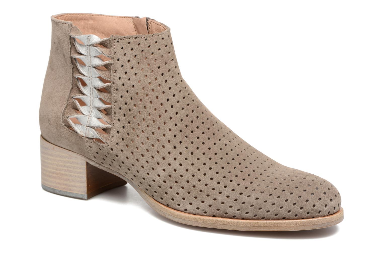 Bottines et boots Muratti Wine Gris vue détail/paire