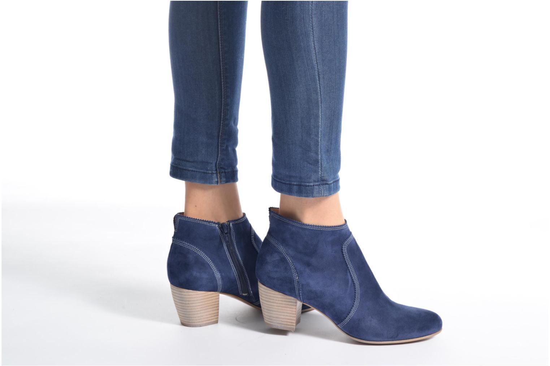 Bottines et boots Muratti Cuba Bleu vue bas / vue portée sac