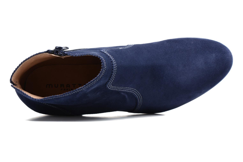 Bottines et boots Muratti Cuba Bleu vue gauche