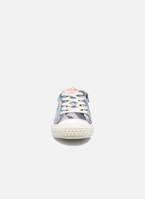 Baskets P-L-D-M By Palladium Tudy Print Bleu vue portées chaussures
