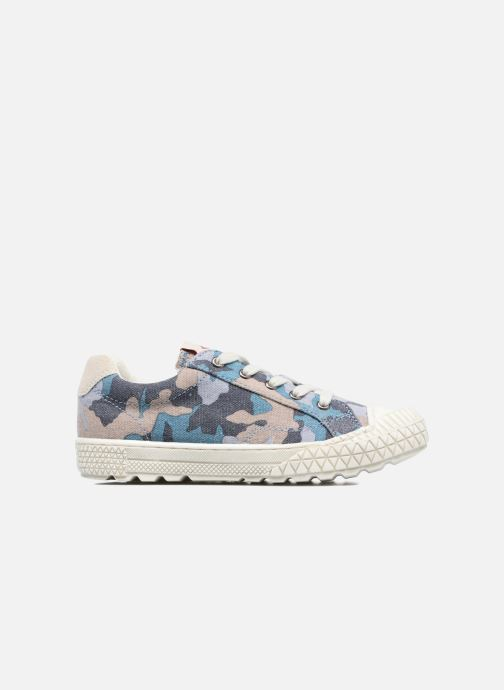 Sneakers P-L-D-M By Palladium Tudy Print Blauw achterkant