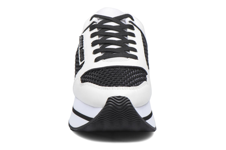 Baskets Armani Jeans Ada Noir vue portées chaussures