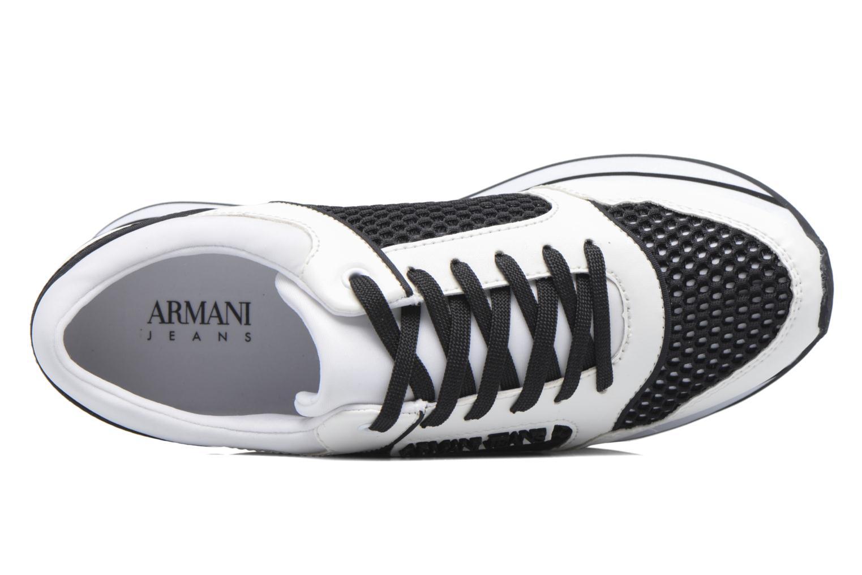 Baskets Armani Jeans Ada Noir vue gauche