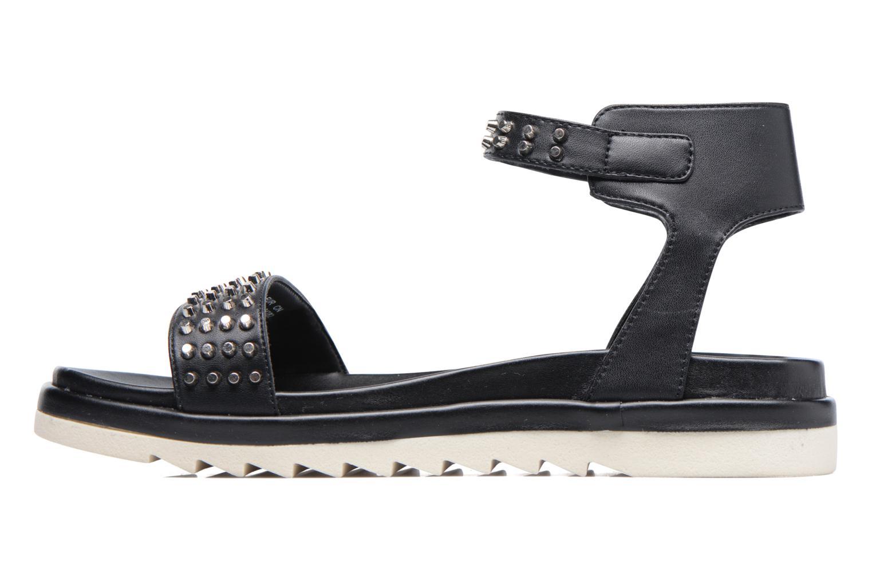 Sandales et nu-pieds Armani Jeans Carla Noir vue face