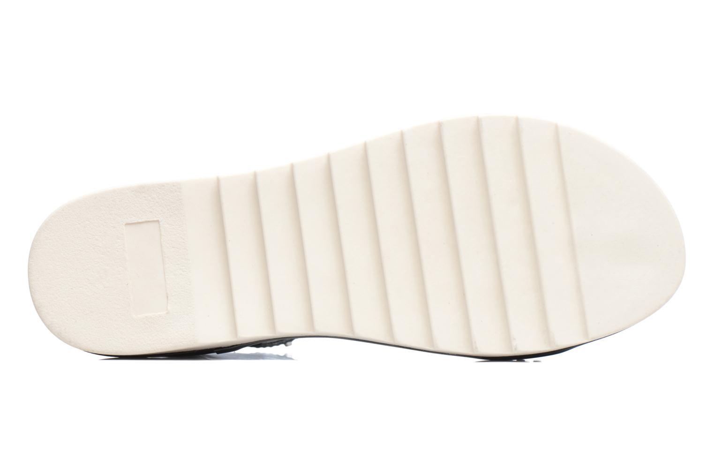 Sandales et nu-pieds Armani Jeans Carla Noir vue haut