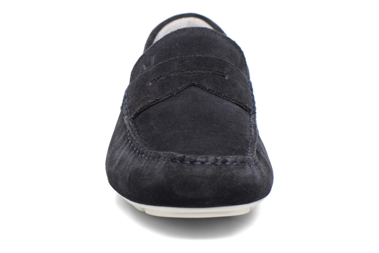 Mocassins Armani Jeans Moc Bleu vue portées chaussures