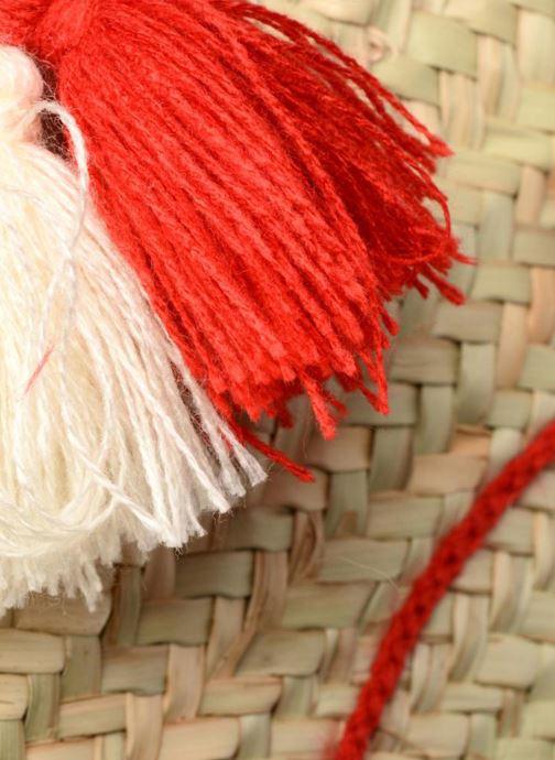 Borse Etincelles Panier artisanal Poisson Rouge Rosso immagine sinistra