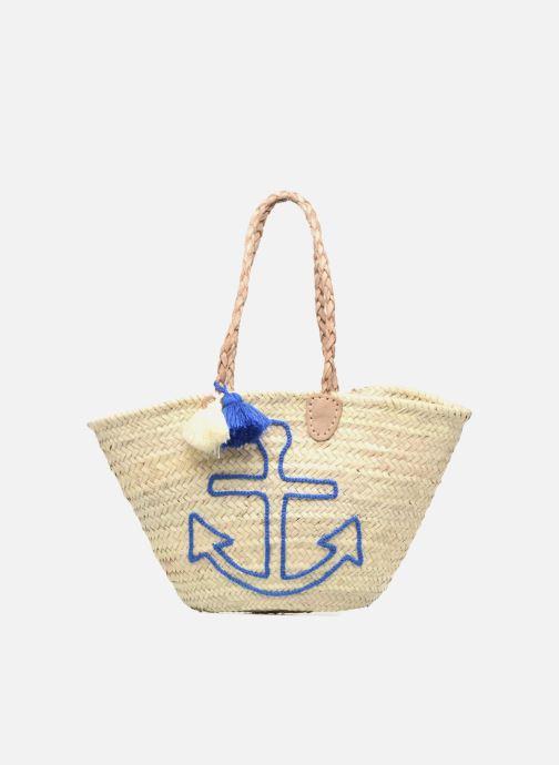 Handbags Etincelles Panier artisanal Ancre Bleu Blue detailed view/ Pair view