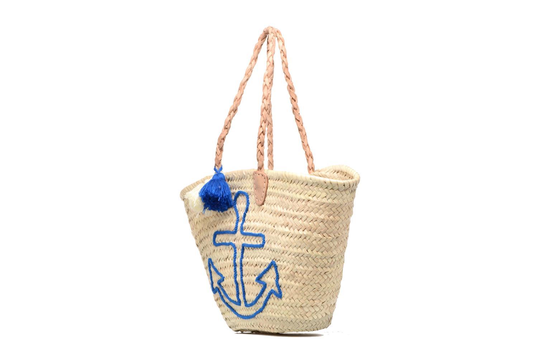 Handtassen Etincelles Panier artisanal Ancre Bleu Blauw model