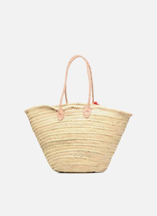 Handbags Etincelles Panier artisanal Cerise Red front view