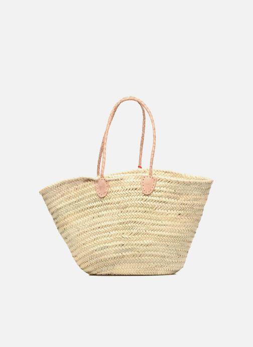 Handbags Etincelles Panier artisanal Summer Rouge Red front view