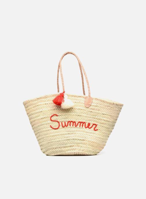 Handbags Etincelles Panier artisanal Summer Rouge Red detailed view/ Pair view