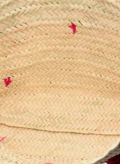 Borse Etincelles Panier artisanal Pompom Fuschia Rosa immagine posteriore