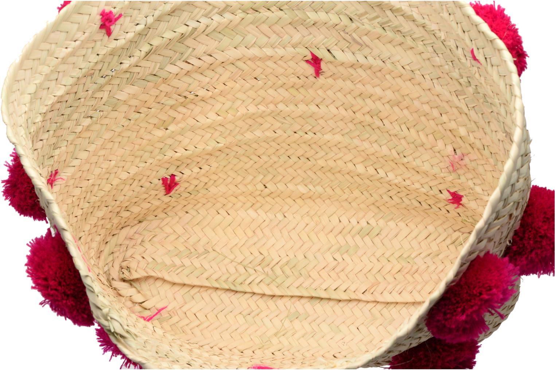 Pompom artisanal Etincelles Panier Fuschia Fushia w88qfYp