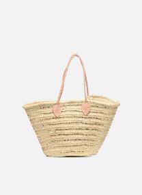 Handväskor Väskor Panier artisanal Rayure Sequin Or