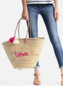 Handbags Bags Panier artisanal Love Fuschia