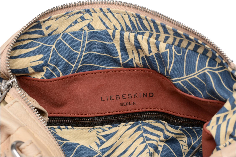 Håndtasker Liebeskind Berlin Masunga Beige se bagfra