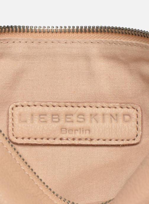 Handtaschen Liebeskind Berlin Aloe B6 rosa ansicht von links
