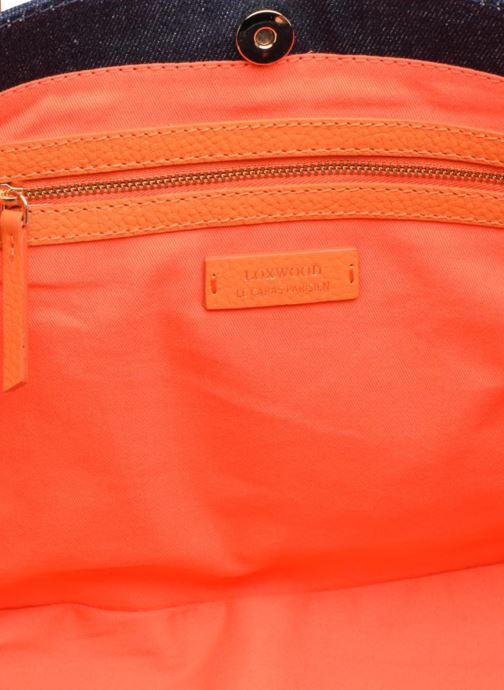 Handtassen Loxwood Shopper Blauw achterkant