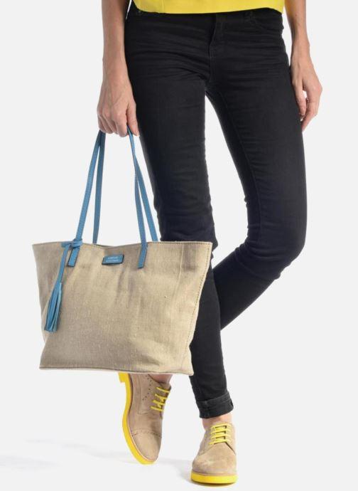 Sacs à main Loxwood Shopper Bleu vue bas / vue portée sac