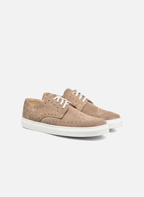 Sneakers Mr SARENZA Cloris Beige immagine posteriore