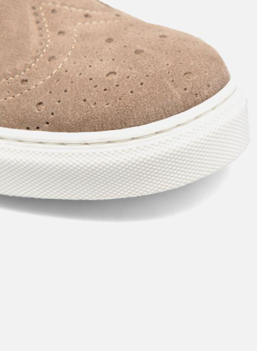 Trainers Mr SARENZA Cloris Beige view from the left