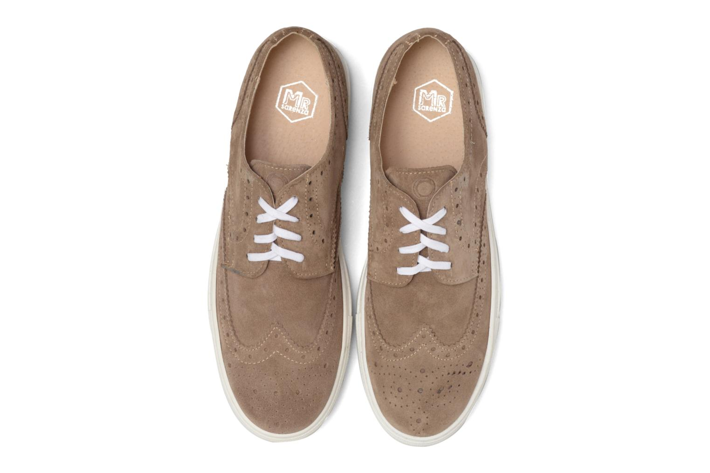 Baskets Mr SARENZA Cloris Beige vue portées chaussures