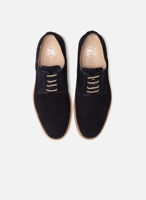 Zapatos con cordones Mr SARENZA Calgary Azul vista del modelo