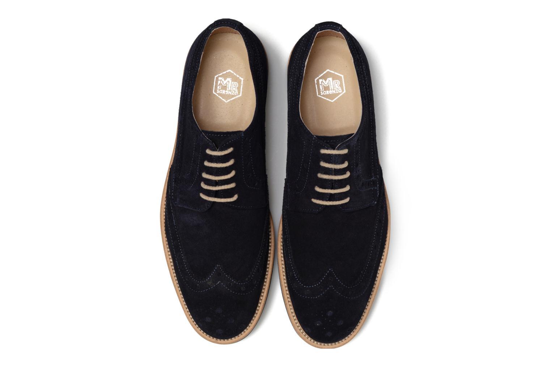 Chaussures à lacets Mr SARENZA Coquitlam Bleu vue portées chaussures