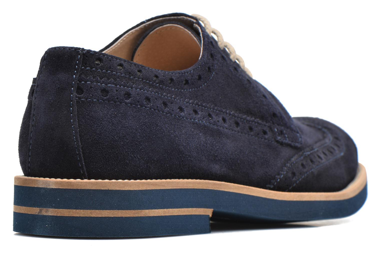 Chaussures à lacets Mr SARENZA Coquitlam Bleu vue face