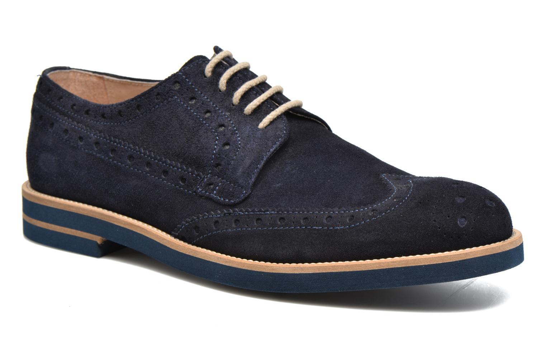 Chaussures à lacets Mr SARENZA Coquitlam Bleu vue droite