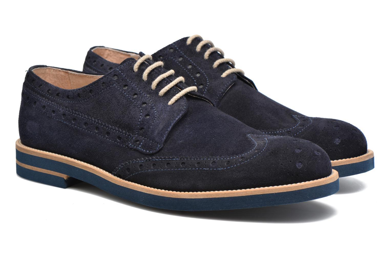 Chaussures à lacets Mr SARENZA Coquitlam Bleu vue derrière