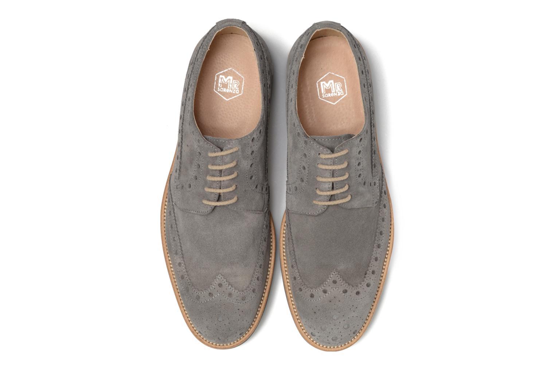 Chaussures à lacets Mr SARENZA Coquitlam Gris vue portées chaussures