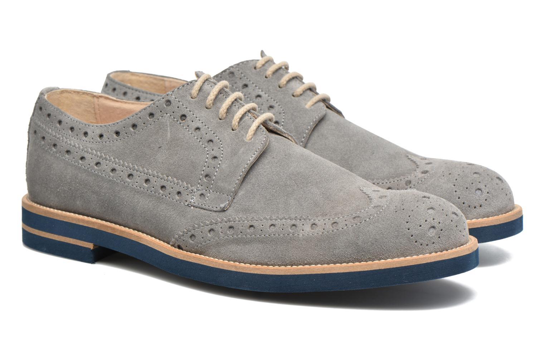 Chaussures à lacets Mr SARENZA Coquitlam Gris vue derrière
