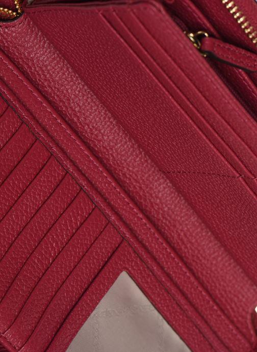 Portemonnaies & Clutches Michael Michael Kors JET SET TRAVEL CONTINENTAL rosa ansicht von hinten