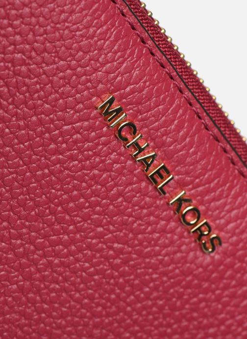 Petite Maroquinerie Michael Michael Kors JET SET TRAVEL CONTINENTAL Rose vue gauche