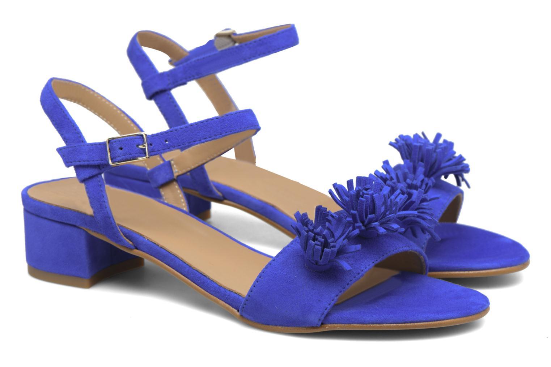 Sandales et nu-pieds Made by SARENZA Frida Banana #16 Bleu vue derrière