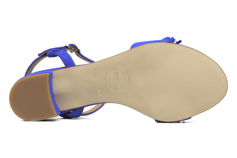 Sandales et nu-pieds Made by SARENZA Frida Banana #16 Bleu vue haut