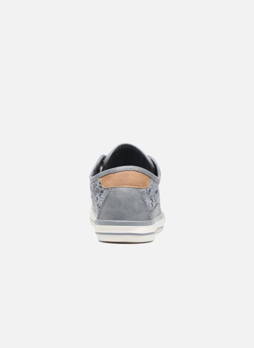 Sneakers Mustang shoes Axmon Blauw rechts