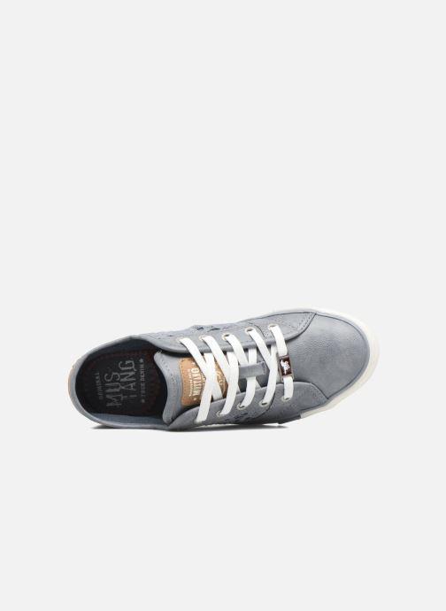 Baskets Mustang shoes Axmon Bleu vue gauche