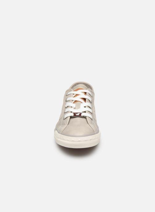 Baskets Mustang shoes Axmon Gris vue portées chaussures
