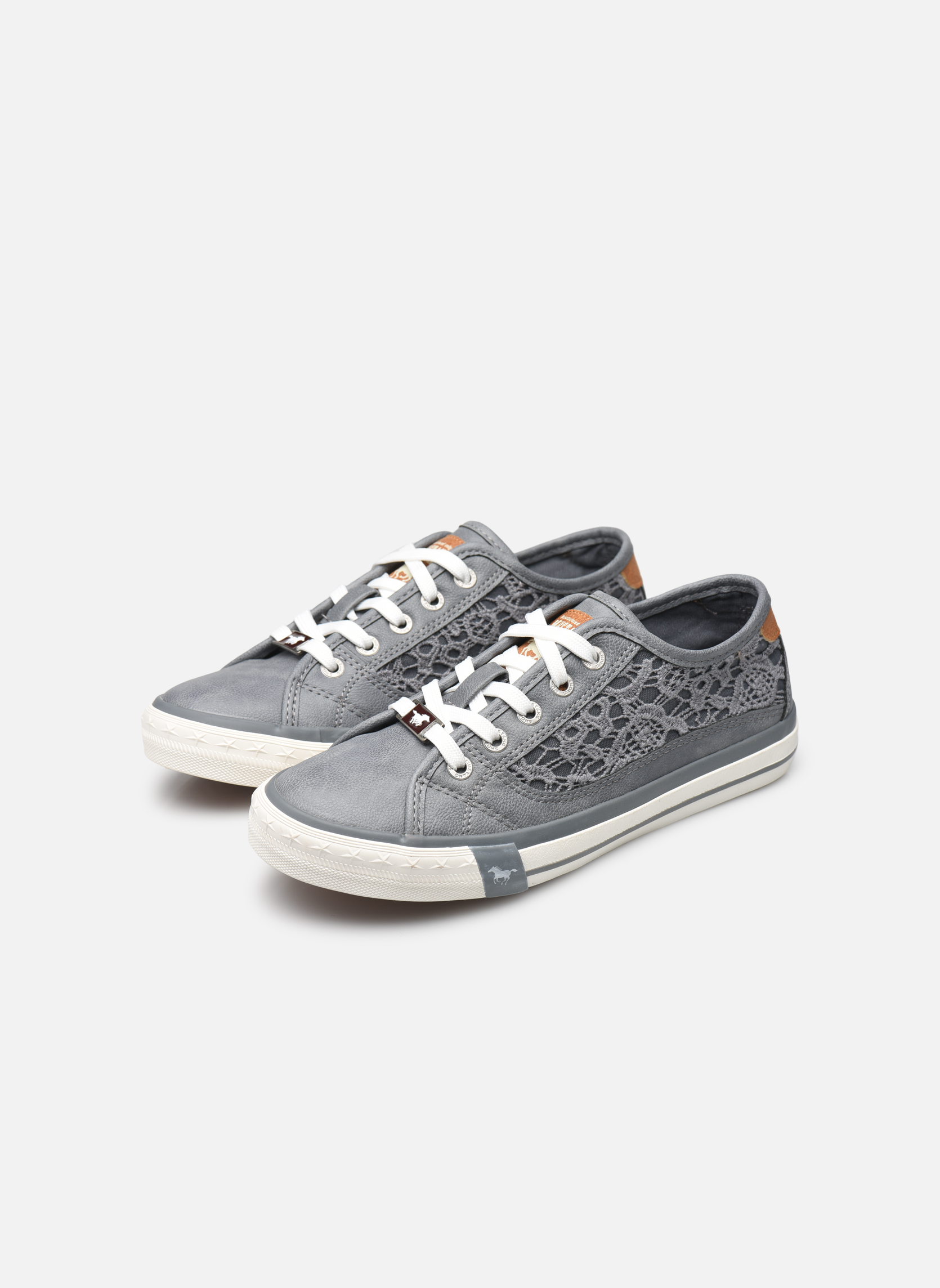 Sneakers Mustang shoes Smith N Azzurro immagine dal basso