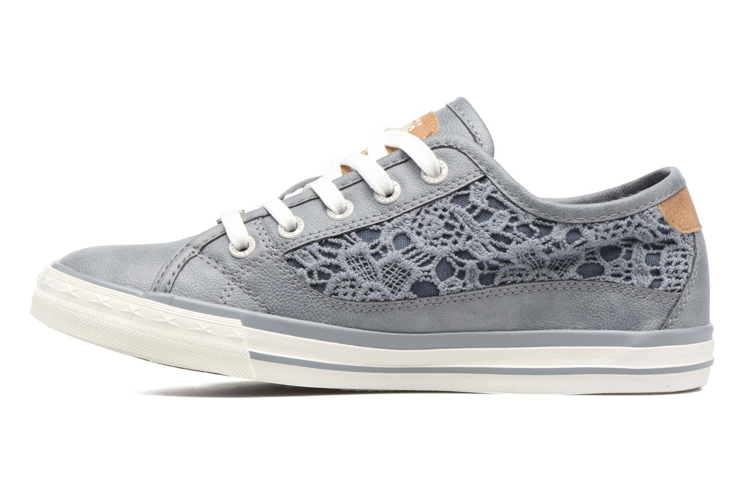 Sneakers Mustang shoes Smith N Azzurro immagine frontale
