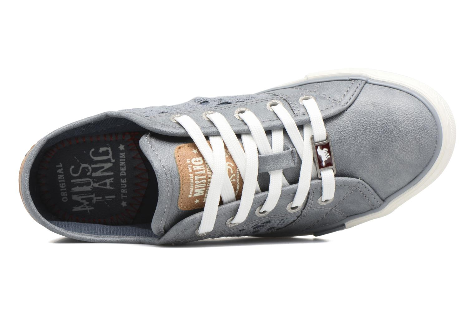 Sneakers Mustang shoes Smith N Azzurro immagine sinistra