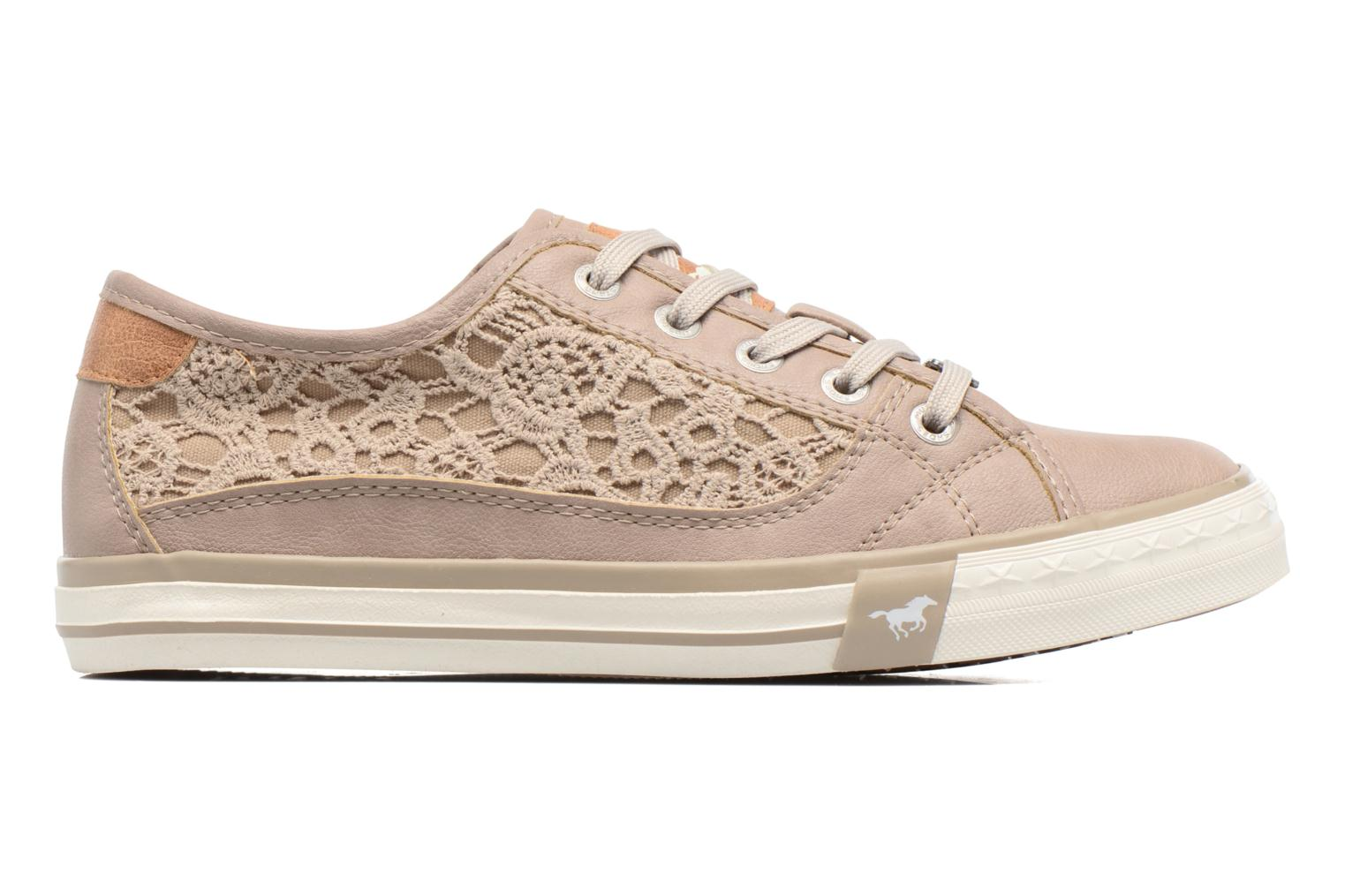 Sneakers Mustang shoes Smith N Beige immagine posteriore