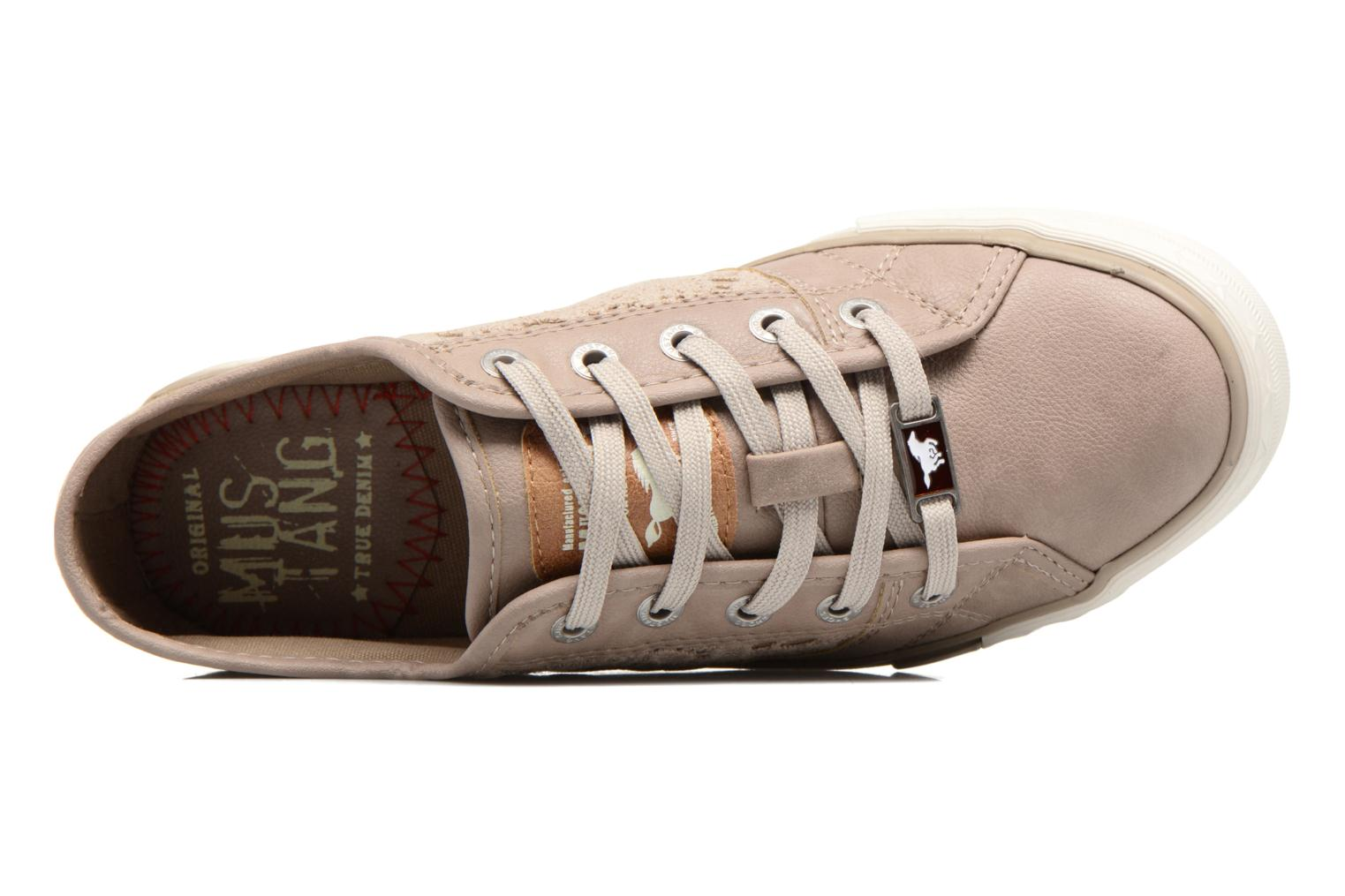 Sneakers Mustang shoes Smith N Beige immagine sinistra