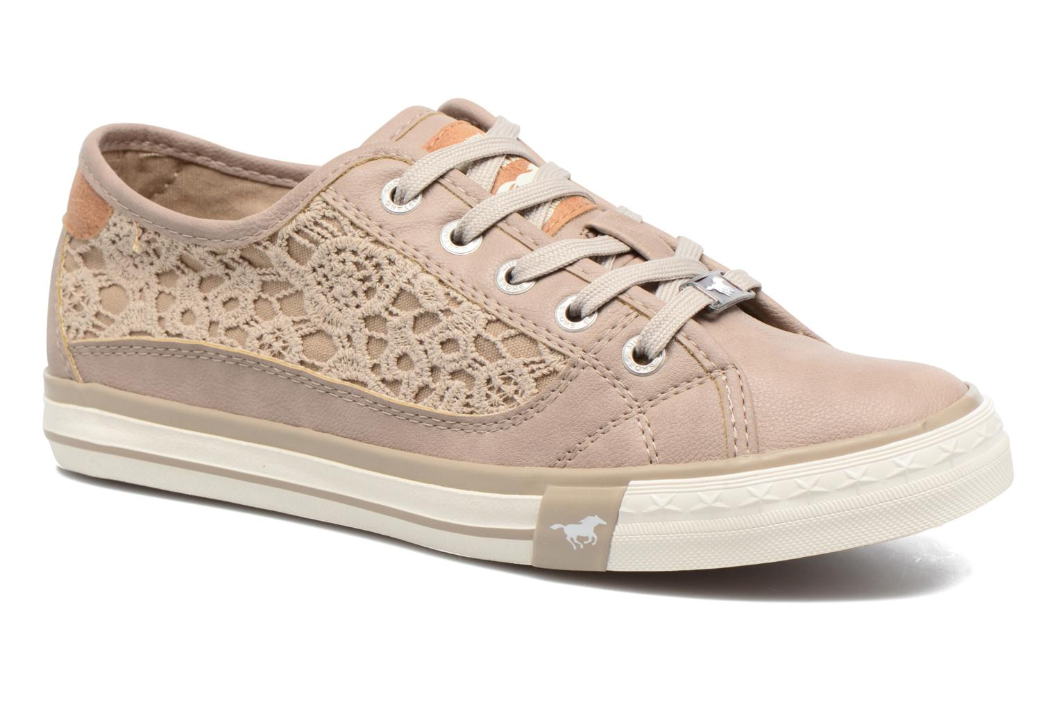 Sneakers Mustang shoes Smith N Beige vedi dettaglio/paio