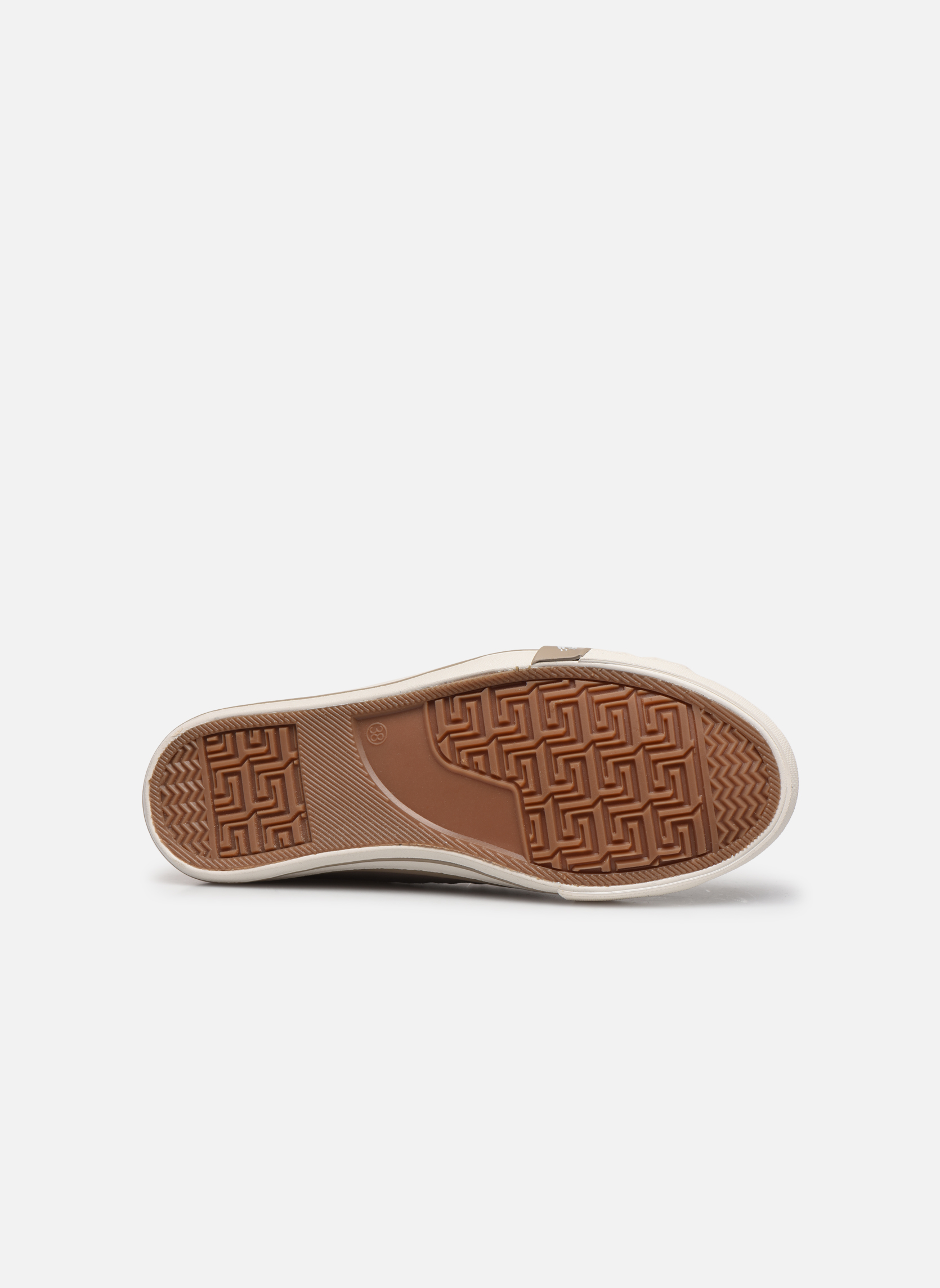 Sneakers Mustang shoes Nola Beige immagine dall'alto